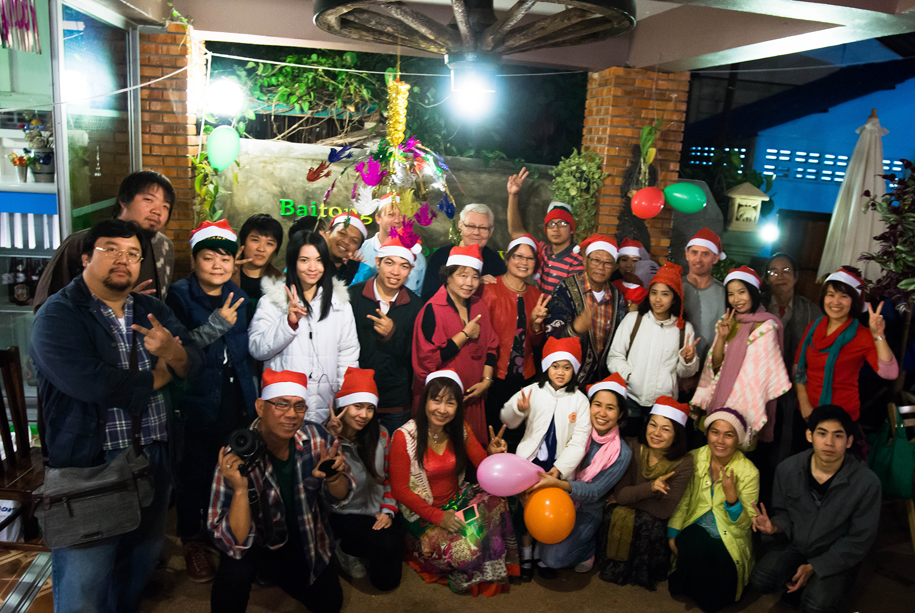 Christmas Party at Baitong