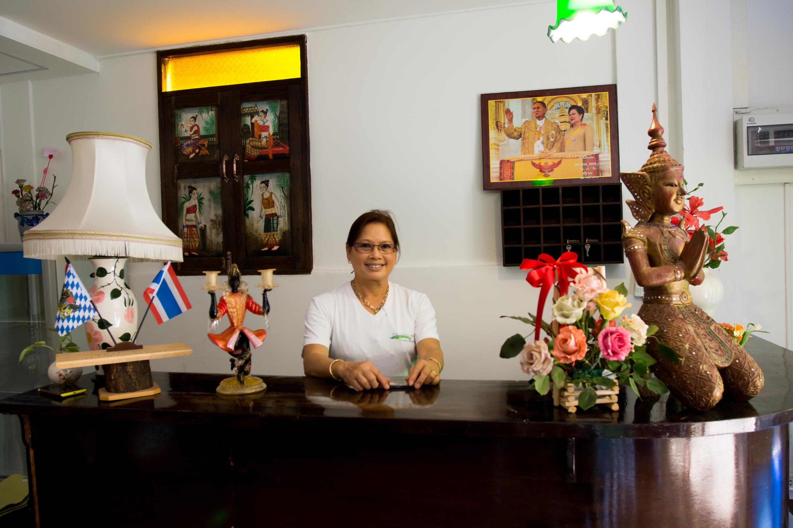 Thailand-Homestay mit dem Namen Baitong ist fertiggestellt